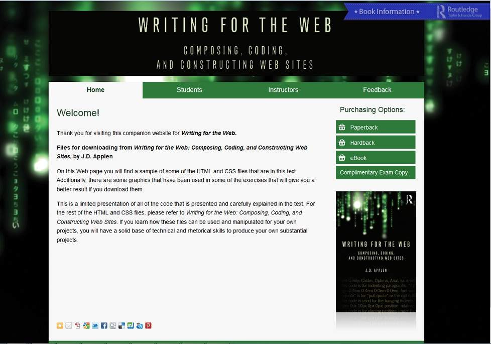 Writing for the Web - Companion Website